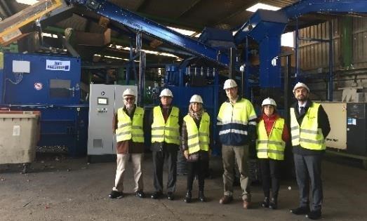 Planta de reciclaje de aluminio en Barcelona