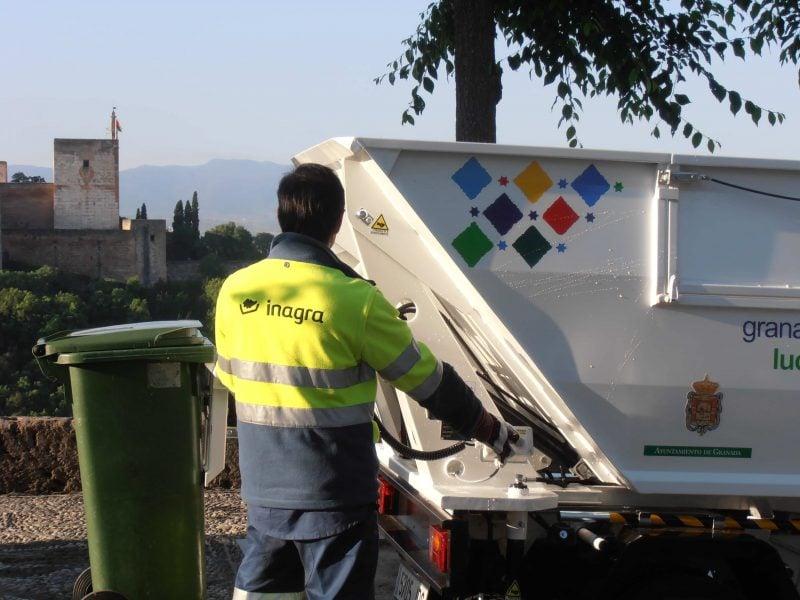 recogida dinámica de residuos urbanos