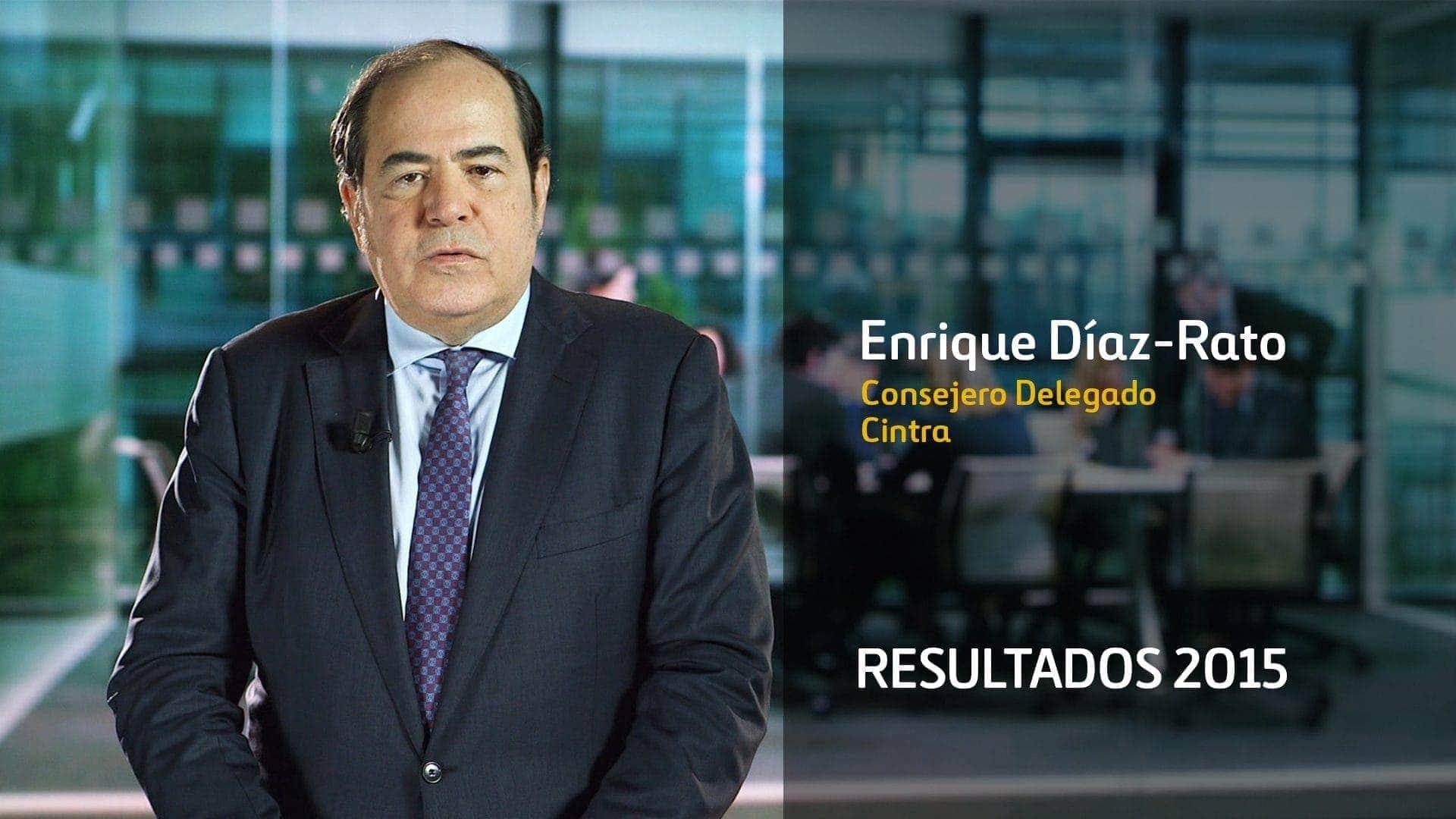 Results 2015 Cintra Ferrovial