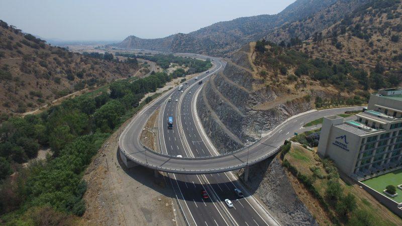 Terceras pistas en ruta 5 sur en chile ferrovial agroman