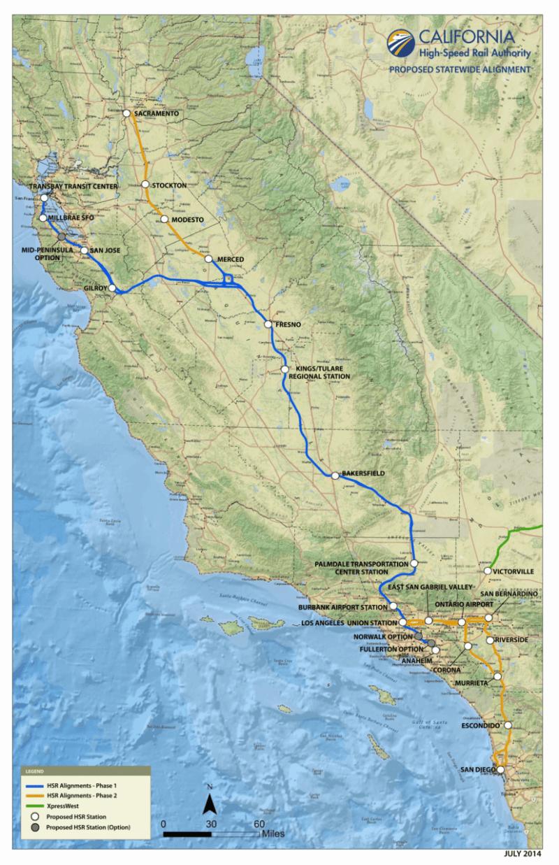 Statewide Topo California