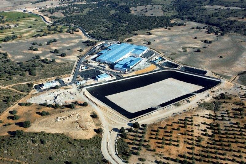 treatment urban waste eco-park toledo