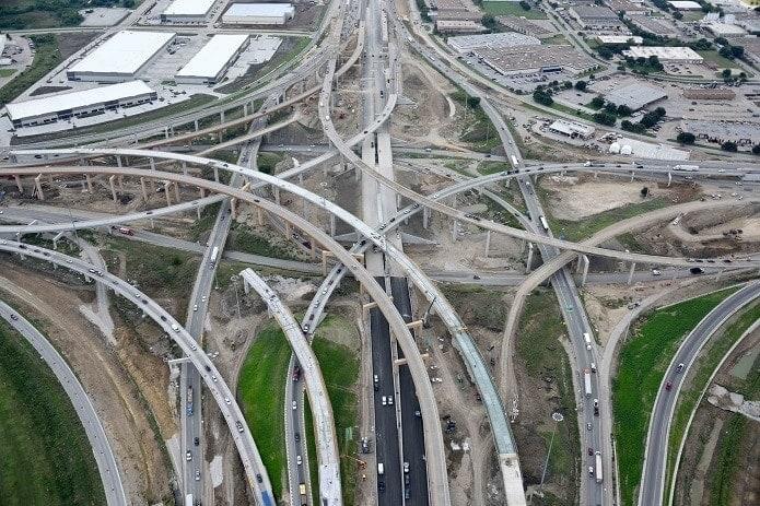 US, Texas, North Tarrant Express Extension