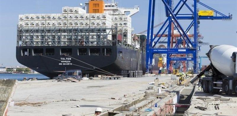 valencia port works ferrovial agroman