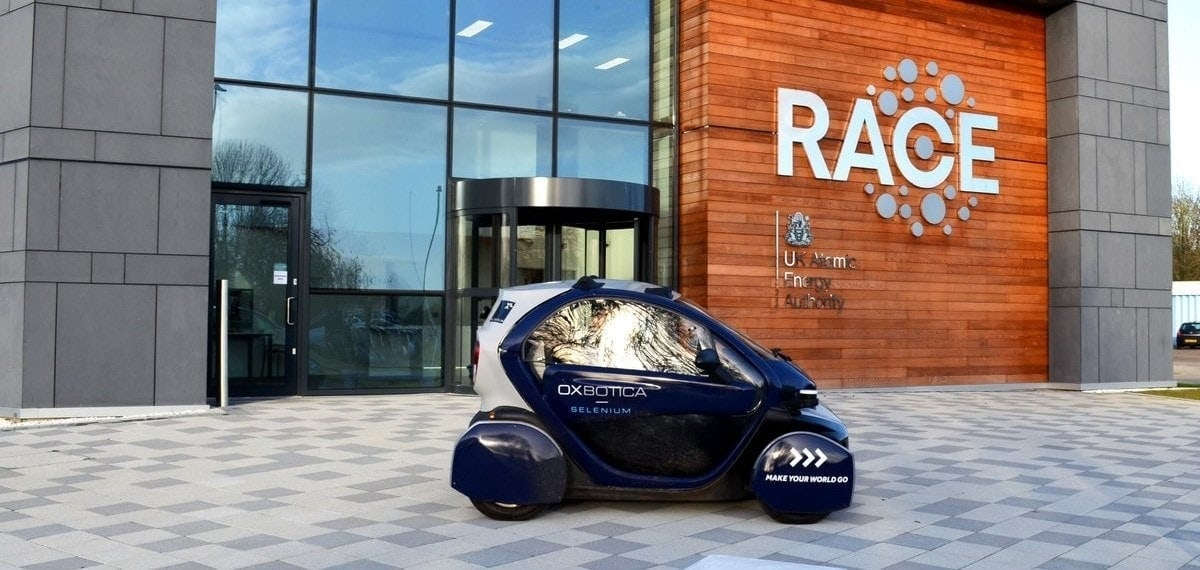 prototipo de vehiculo autonomo amey race