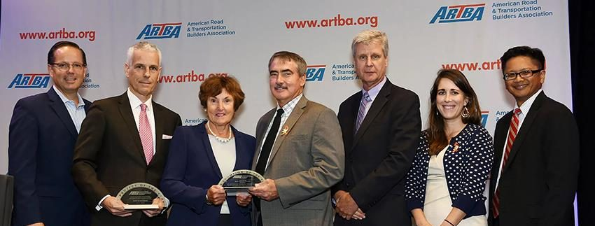 ARTBA P3 Project of the Year award ceremony
