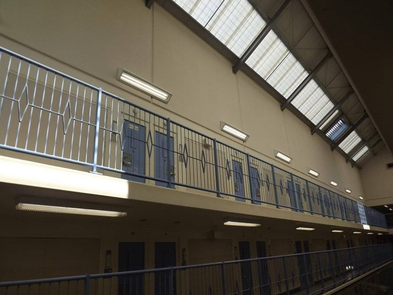 LED lighting in HM Prison Risley