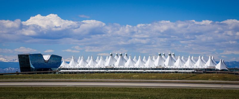 Jeppensen Terminal in Denver Airport USA