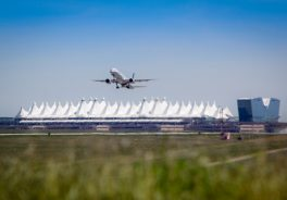 Jeppensen Terminal in Denver International Airport (USA)