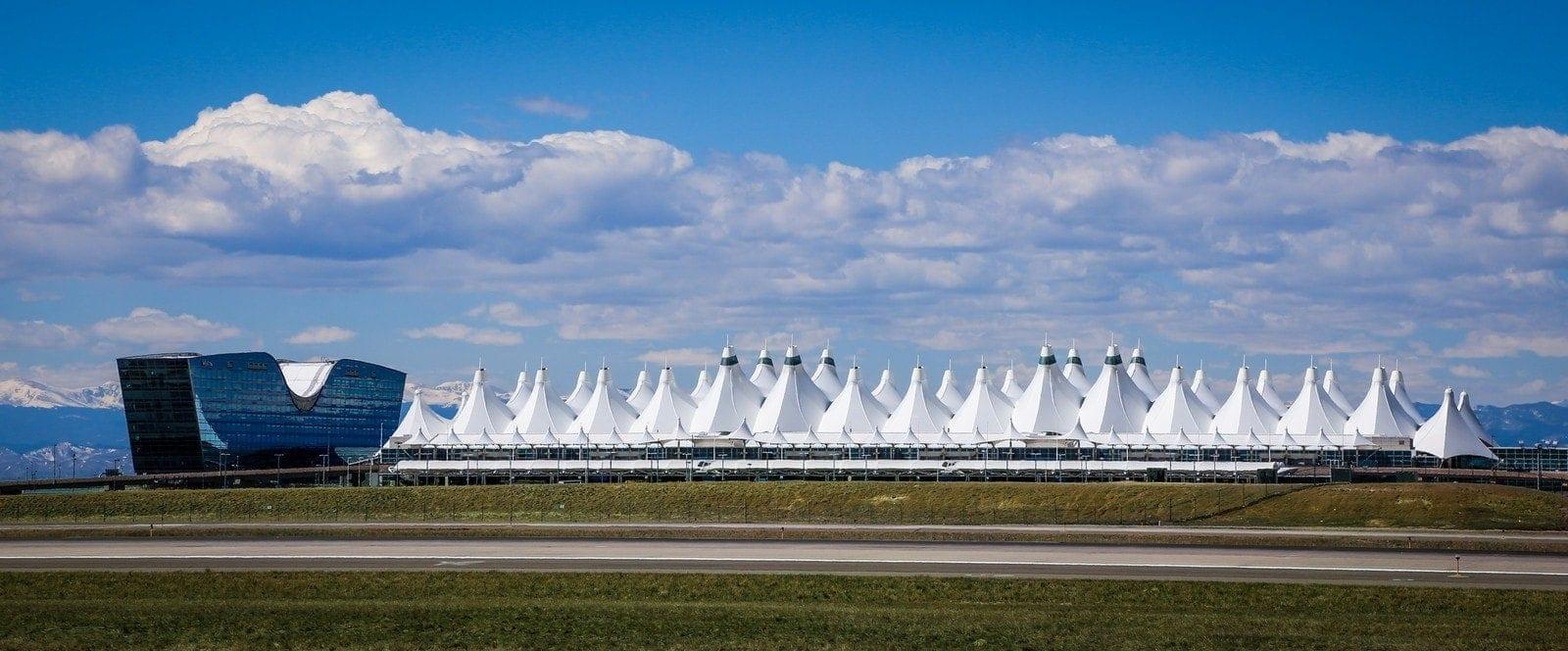 Jeppensen Terminal in Denver Airport USA