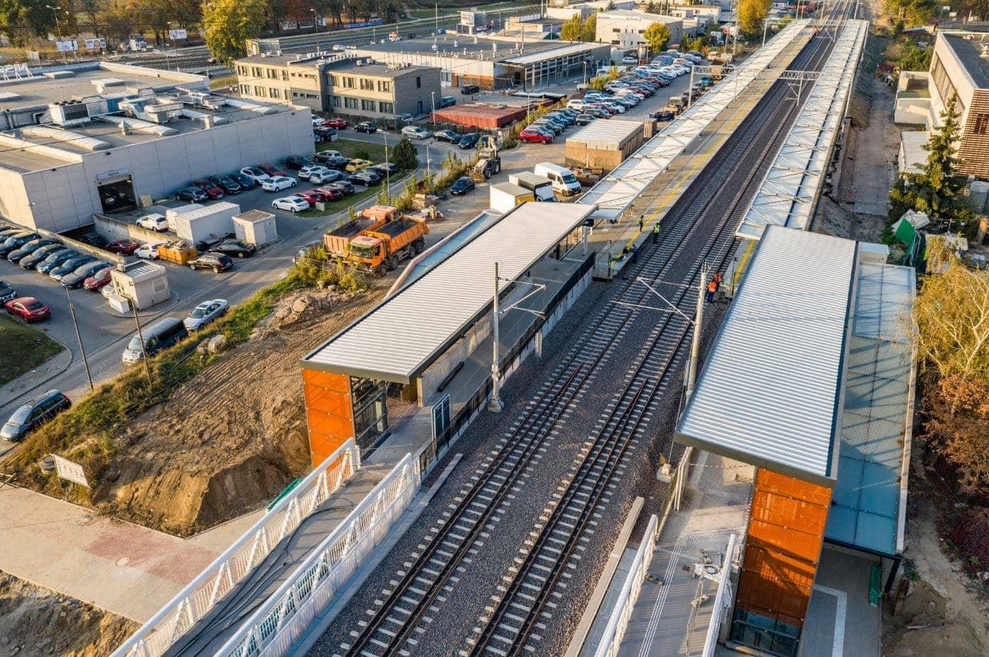 Budimex renovación vías tren