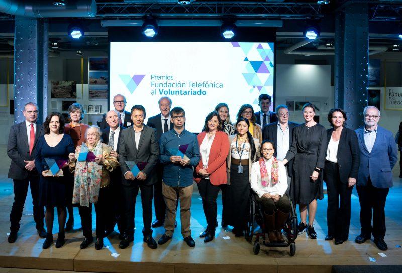 Todos los premios Fundación Telefónica al Voluntariado