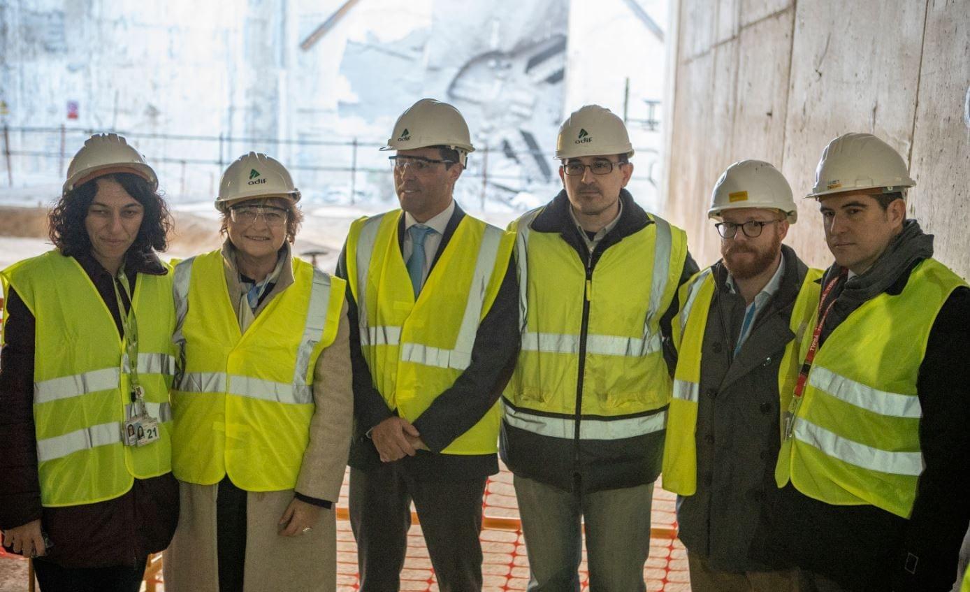 Rodalies Tunnel project team