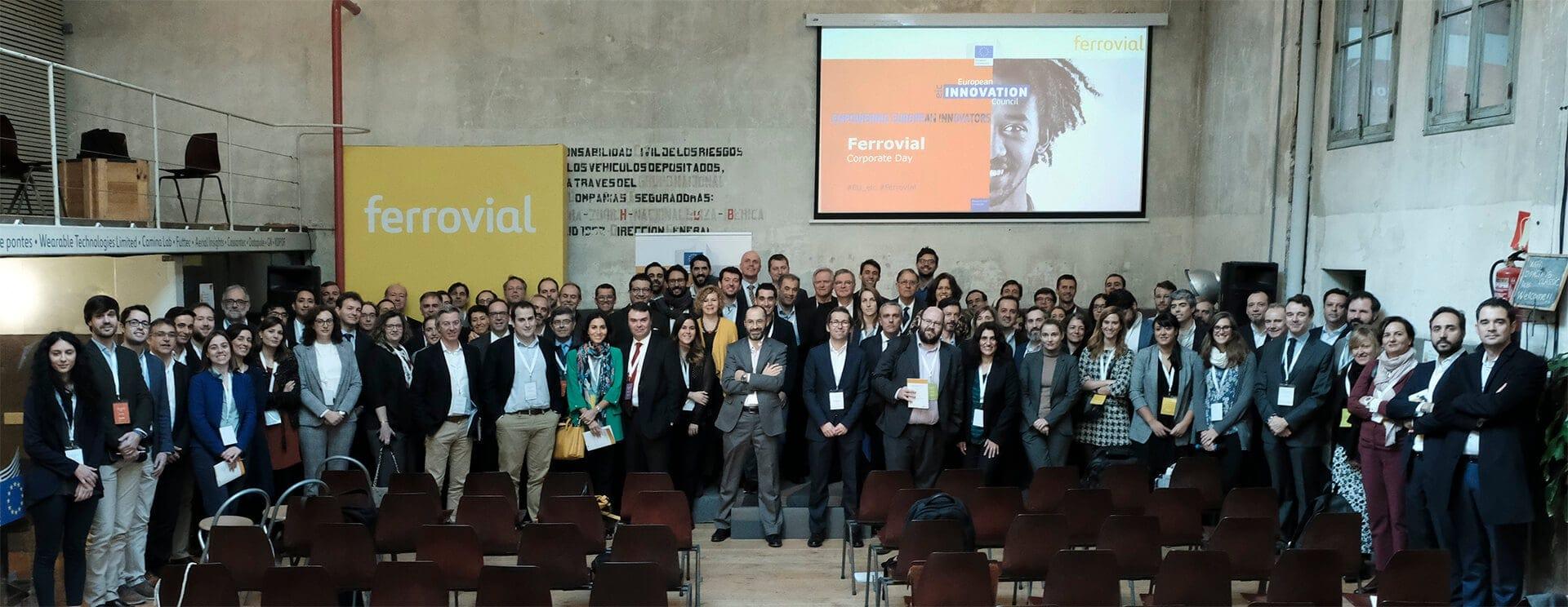 Encuentro de ferrovial con startups europeas