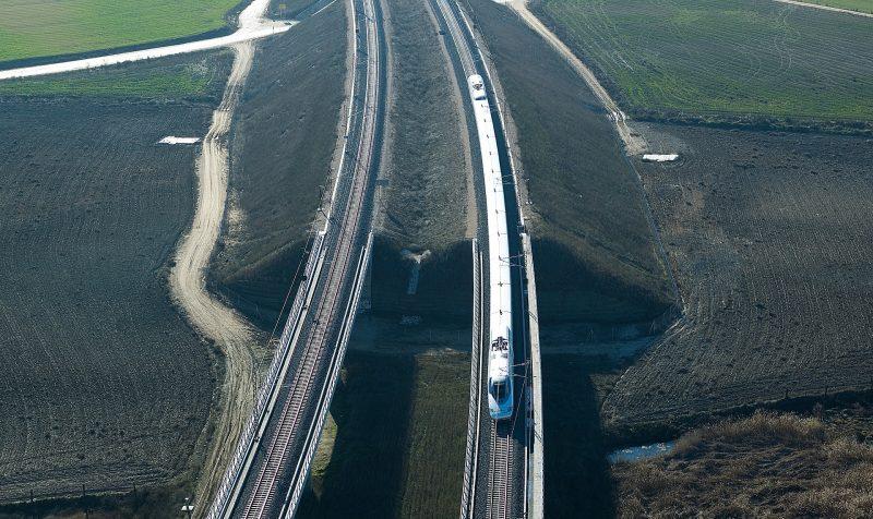 High Speed Rail line, Valladolid