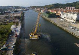 Puente San Ignacio Zorrotzaurre-vista de pajaro