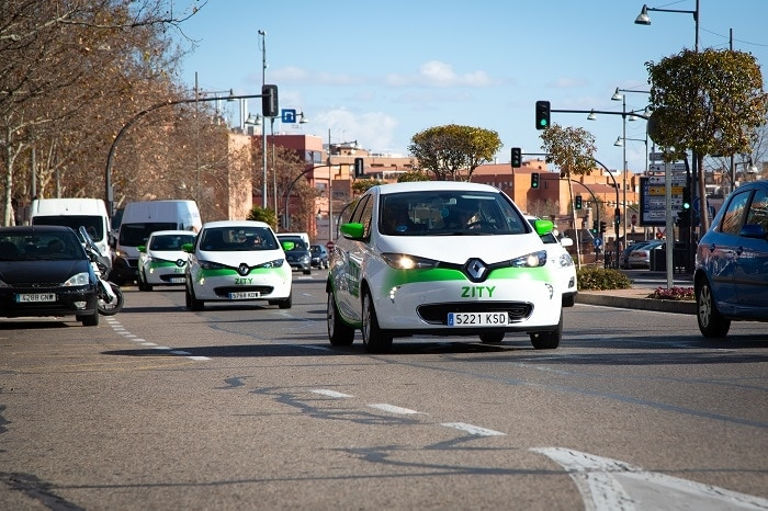 ZITY expands its service area to Alcobendas. Car