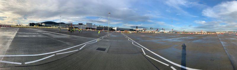 Heathrow t1 fin puntos estacionamiento