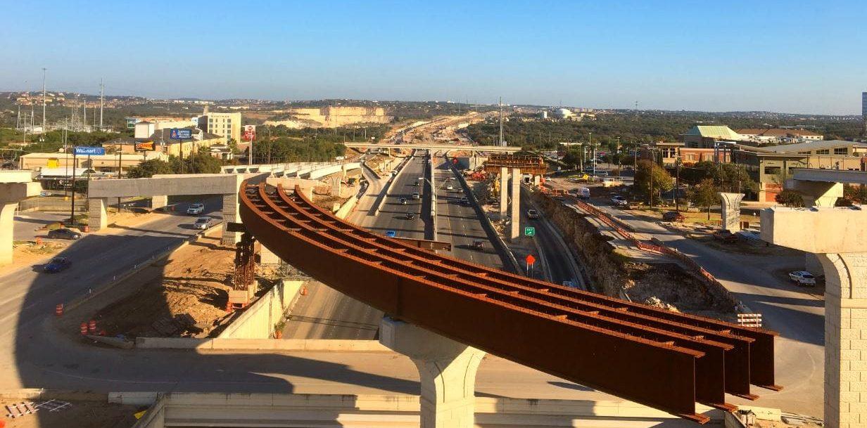US 281 construccion