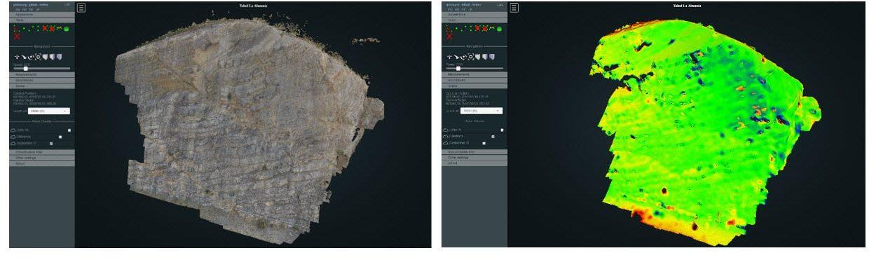 Nuestro sistema MAT de Inspección de Taludes con drones, pionero y protagonista en CivilDron'19