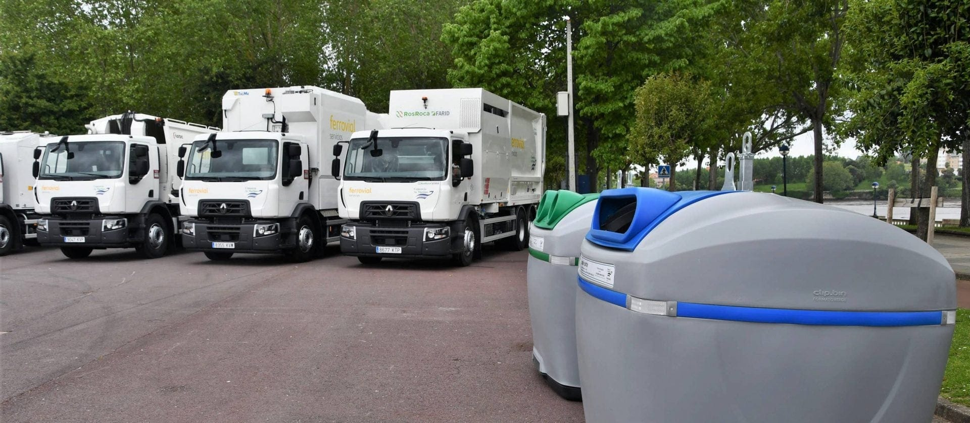 Ferrovial Services Adds Ten New Vehicles to Improve Waste Collection for The Eight Municipalities in The As Mariñas Consortium