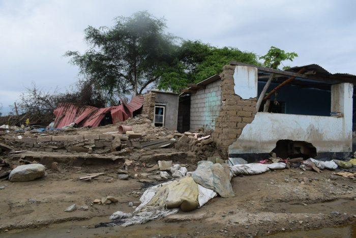 environmental catastrophe of the El Nino phenomenon in Peru