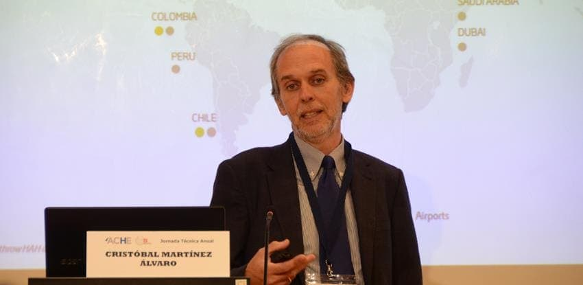 Image of Cristóbal Martínez, Director of the Technical Office at Cintra