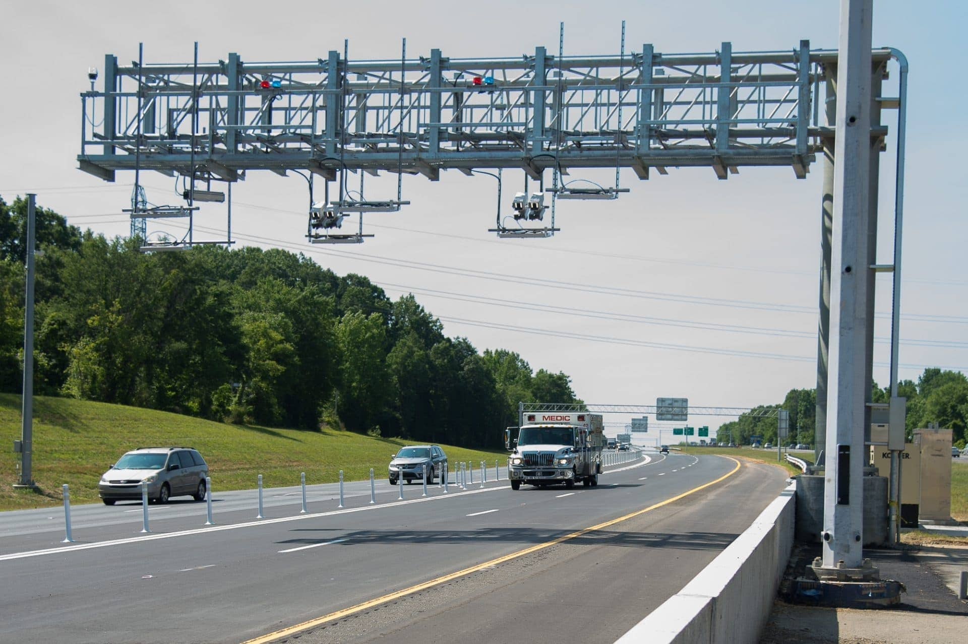 Northern section of the I-77 Express lanes project, from Hambright Road to Exit 36 in Mooresville