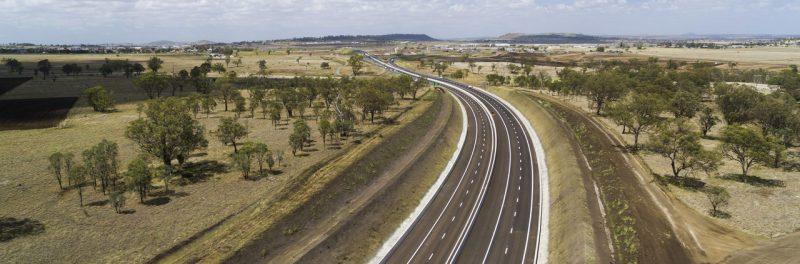 Imagen de la autopista Towoomba ganadora del premio Build