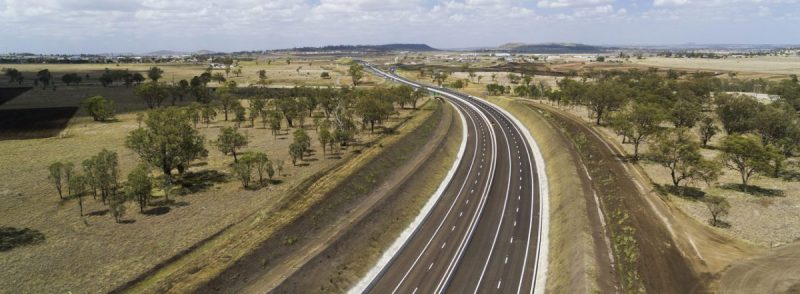 Image of the awarded Toowoomba highway