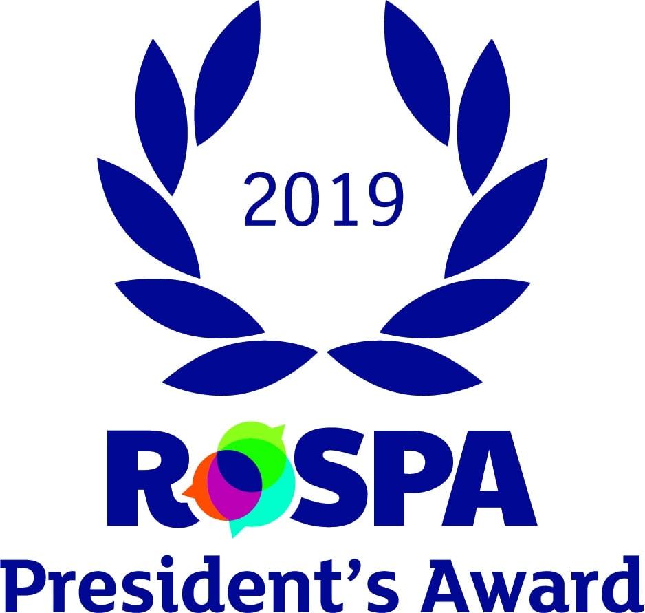 Imagen del logo de los premios ROSPA