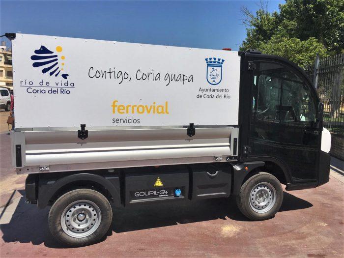 new waste collection trucks from Coria del Rio