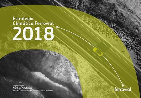 Imagen de la portada del estudio de estrategia de cambio climatico 2018