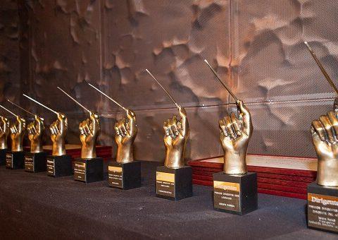 Imagen de las estatuillas que se entrega a los premiados