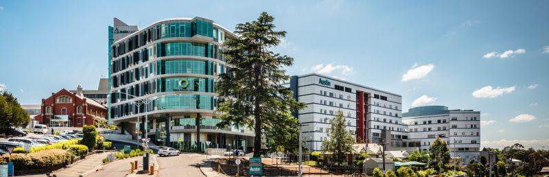 Imagen de los edificios de Austin Health