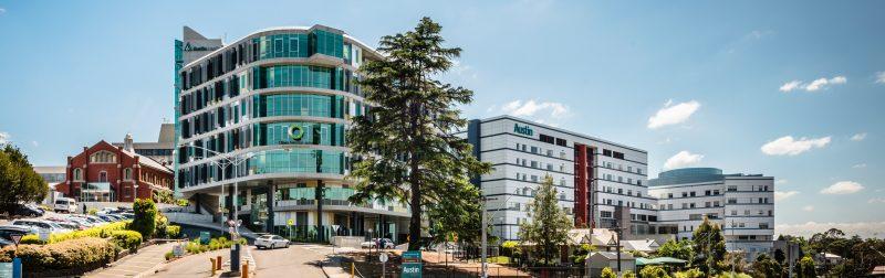 Image of Austin Health buildings
