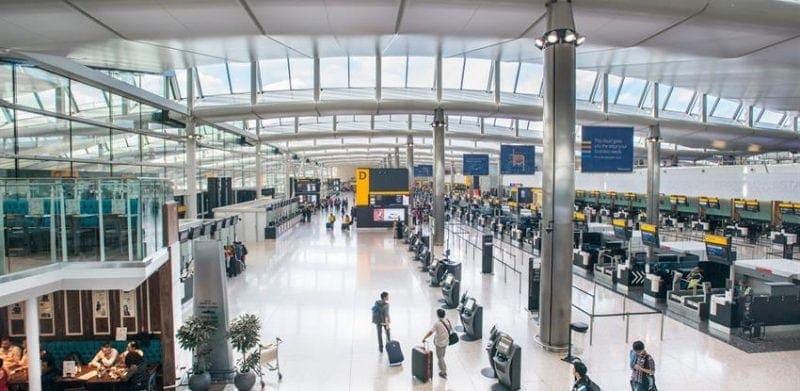 Foto del aeropuerto de Heathow