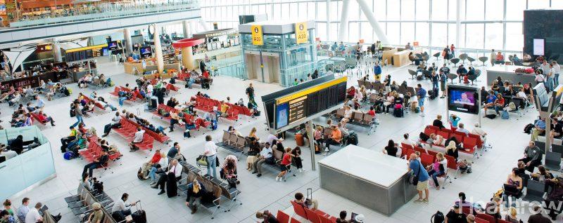 Imagen de la terminal 5 del aeropuerto de Heathrow