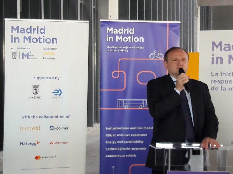 Imagen de la intervención del Concejal del Ayuntamiento de Madrid