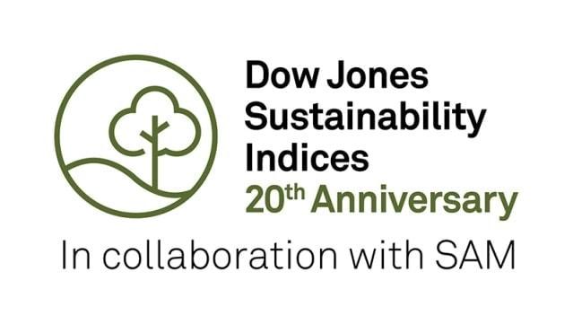 logotipo DJSI dow jones robecosam 20