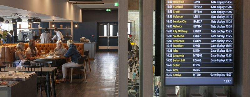 Image of Lomond Lounge at Glasgow airport