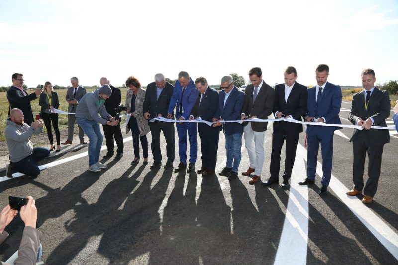 image of the inauguration of the bypass