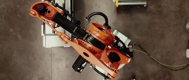 image of a robot developed by Ferrovial