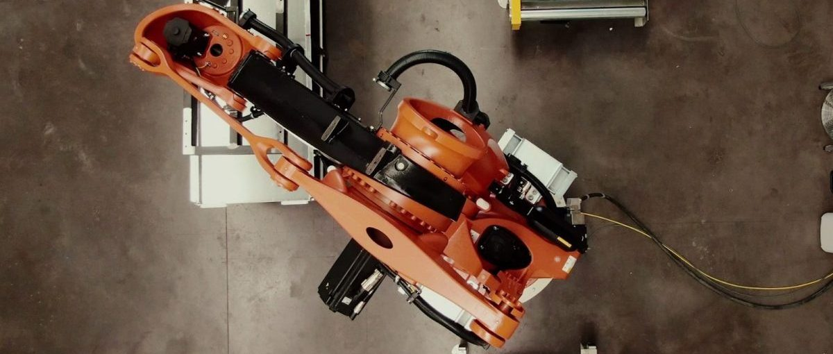 Imagen de un robot desarrollado por Ferrovial