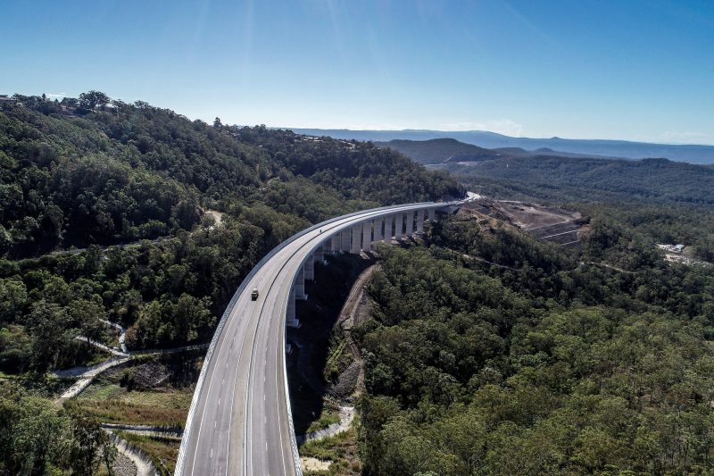 Toowoomba highway in Australia by Ferrovial