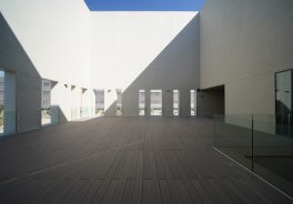 Imagen del exterior del Paraninfo de la Universidad Cardenal Herrera construido por Ferrovial Agroman