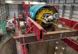 Image of tunnel machine