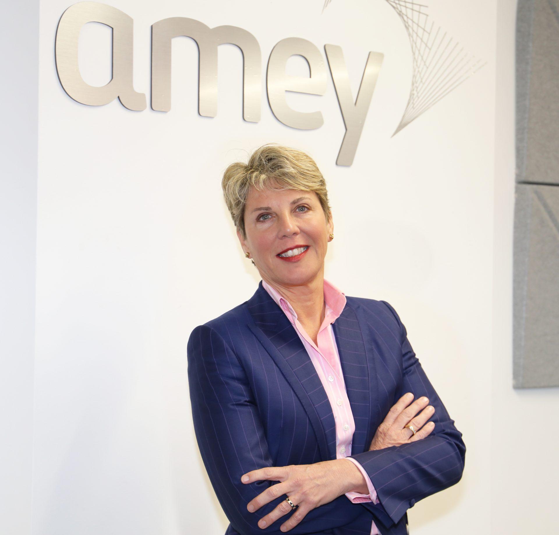 Amanda Fisher, Acting CEO of Amey