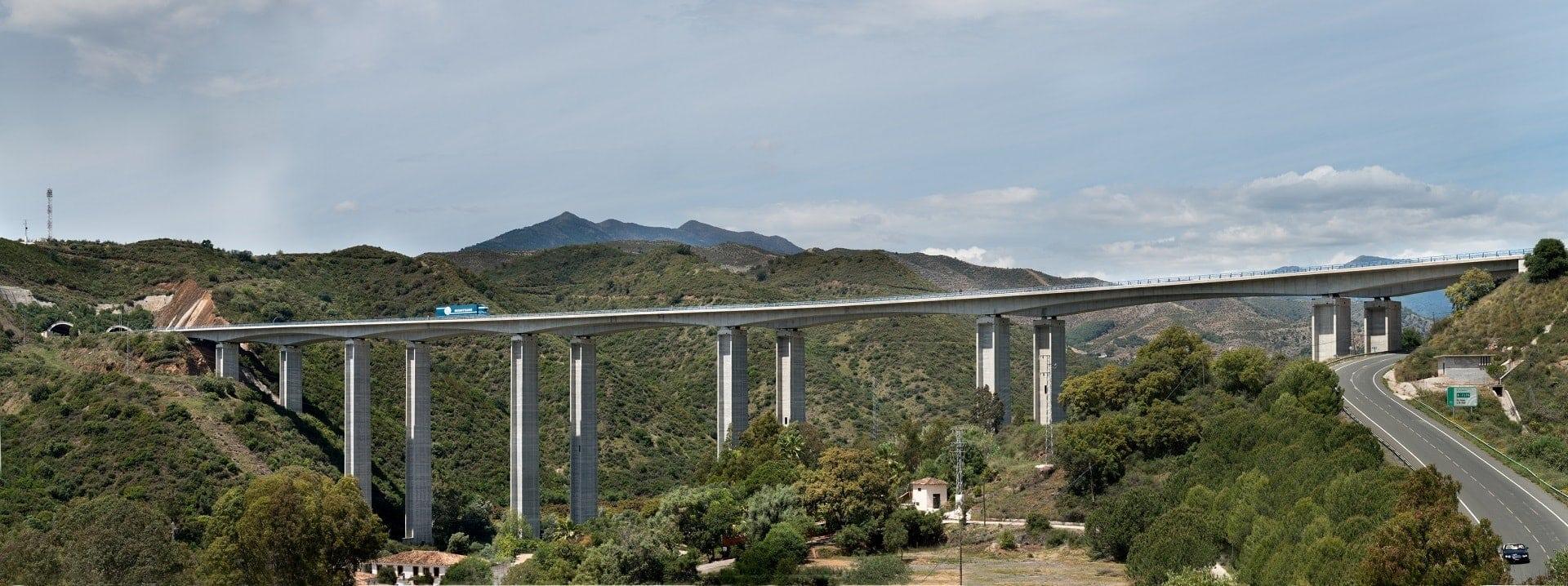 ausol highway in spain