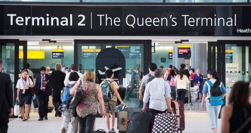 Terminal 2 Heathrow